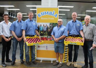 Kumbia stone fruits events