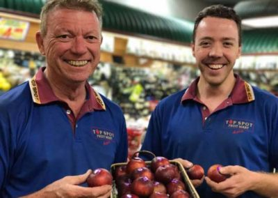 Top Spot Fruit Marts Barry and Craig