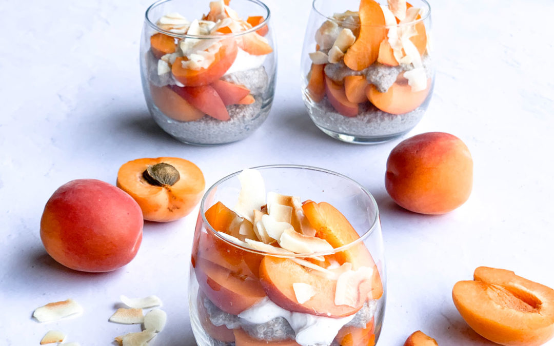 I.M. SWEET Australia Apricot Chia Pudding