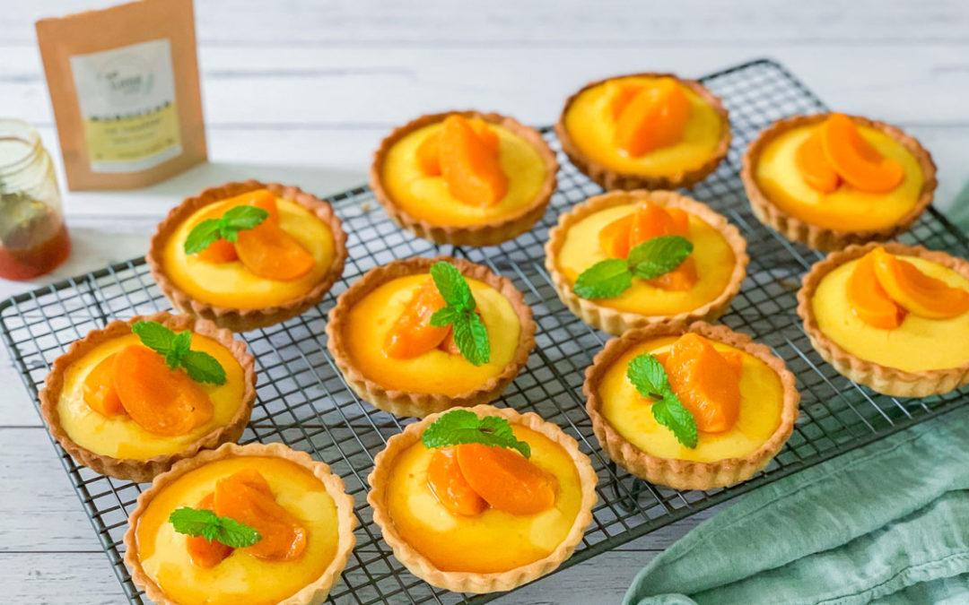 Apricot Lemon Curd Tart