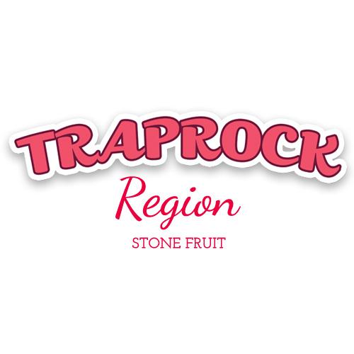 Traprock region stone fruit logo